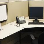 sanitize telephones, and work space